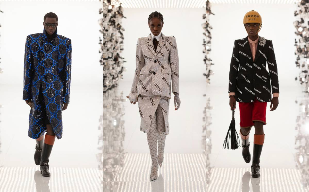 First look: Gucci collaborates with Balenciaga