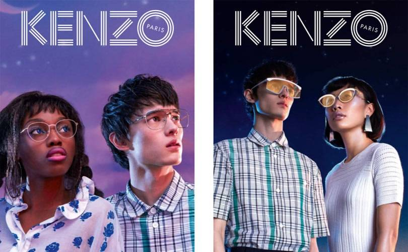 Kenzo unveils debut eyewear collection