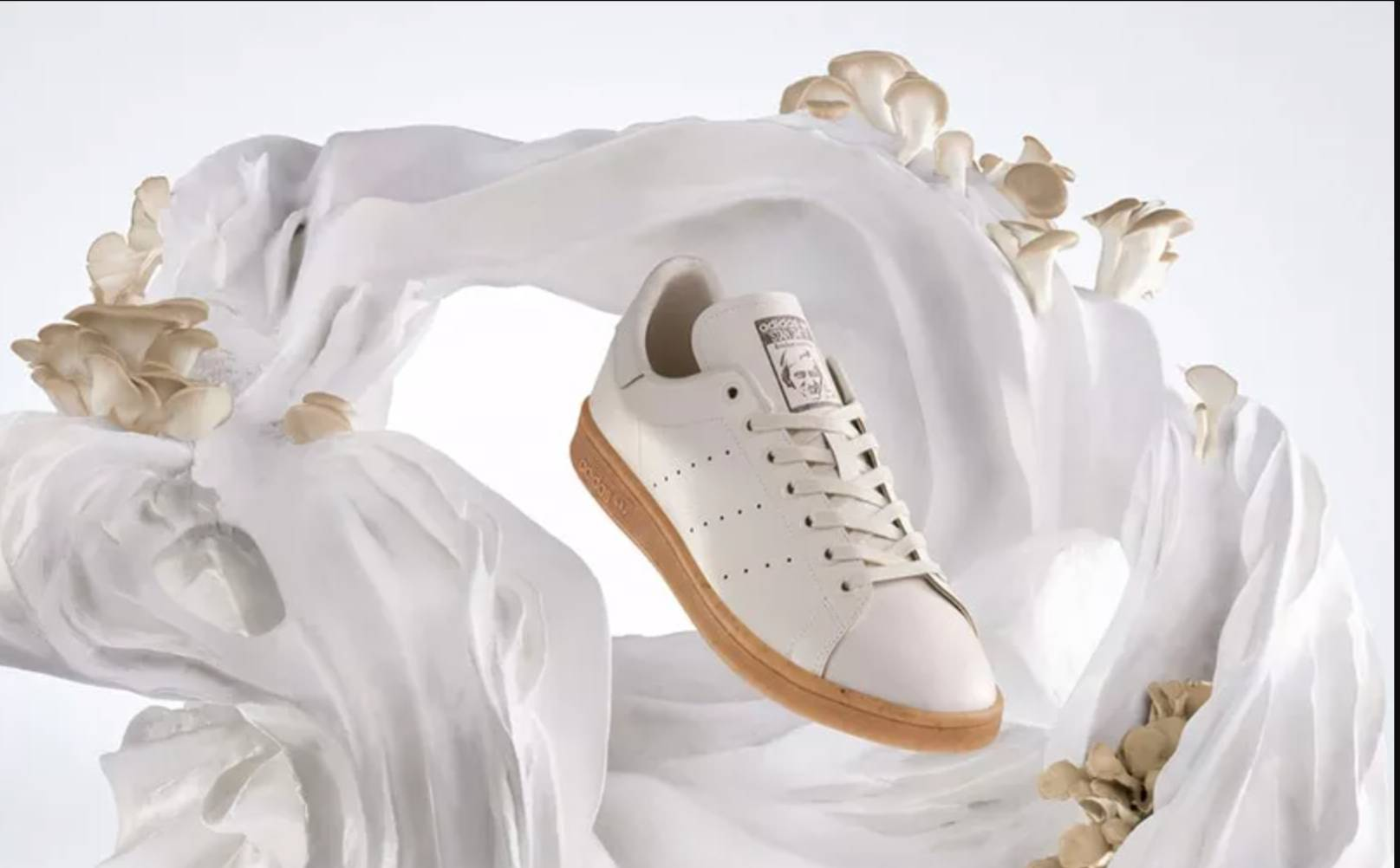 Stan Smith Mylo, the first sneaker made from mushroom mycelium