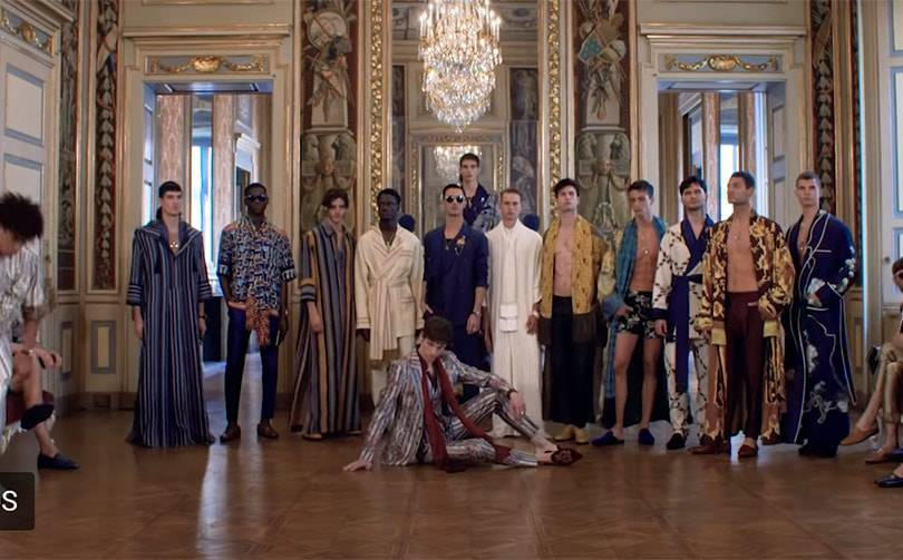 Video: Dolce & Gabbana men's haute couture show AW20/21