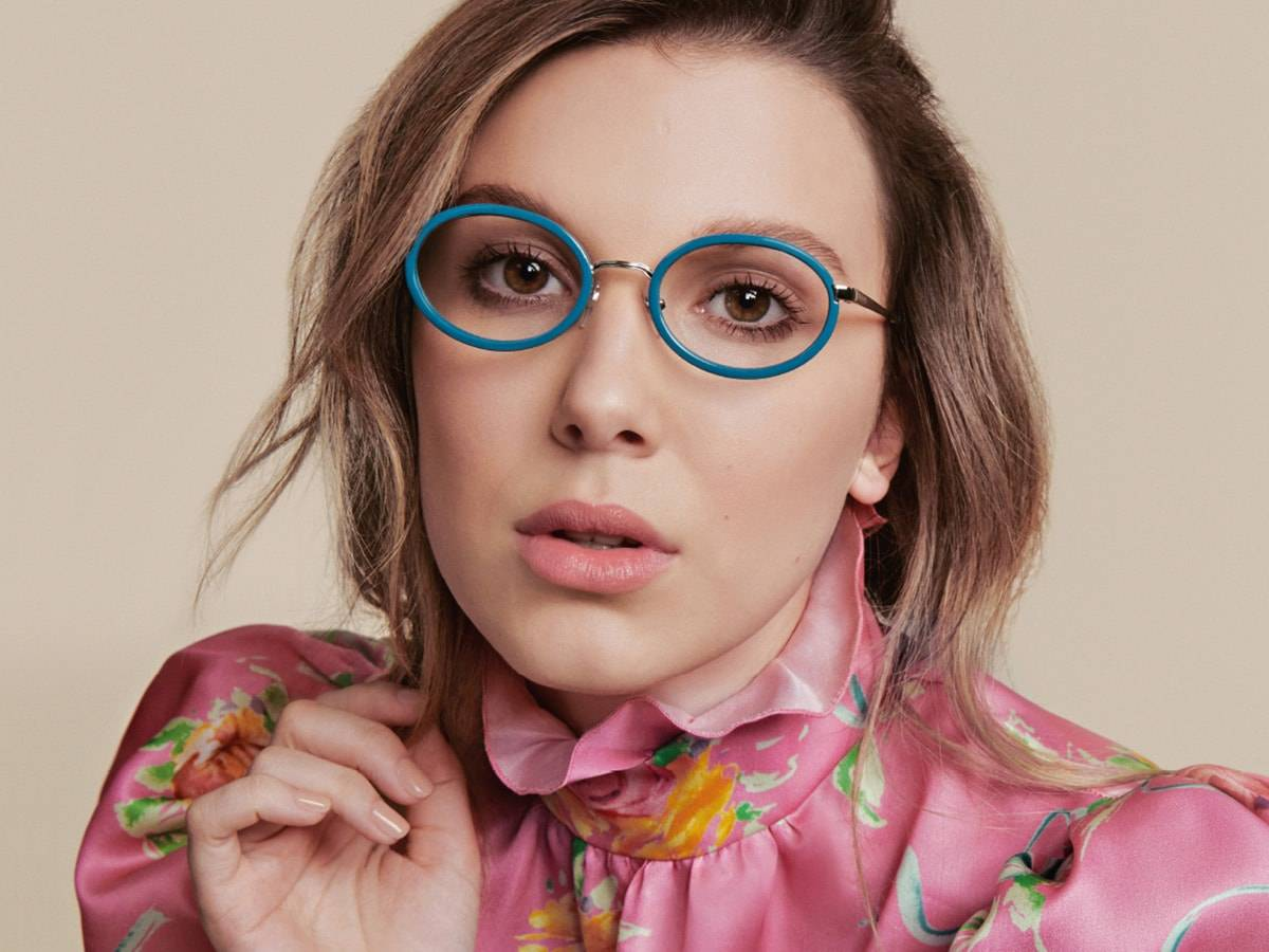 Vogue Eyewear launches collaboration with Millie Bobby Brown