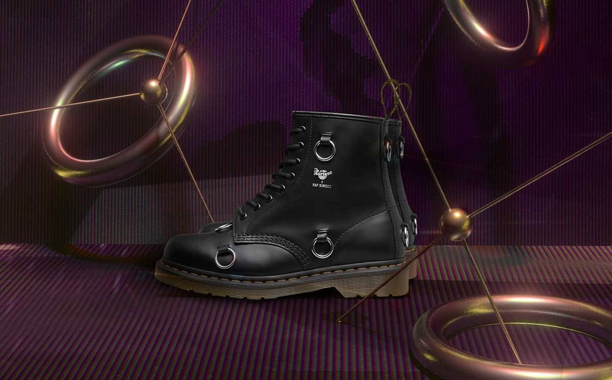 Dr. Martens celebrates 60 years with Raf Simons