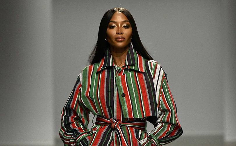 Paris cheers Naomi Campbell and Nigeria's rising fashion star
