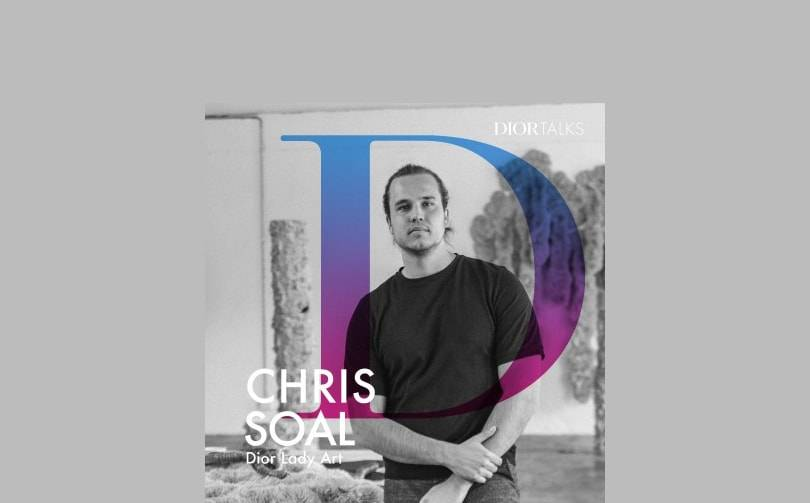 Podcast: Dior Talks interviews artist Chris Soal