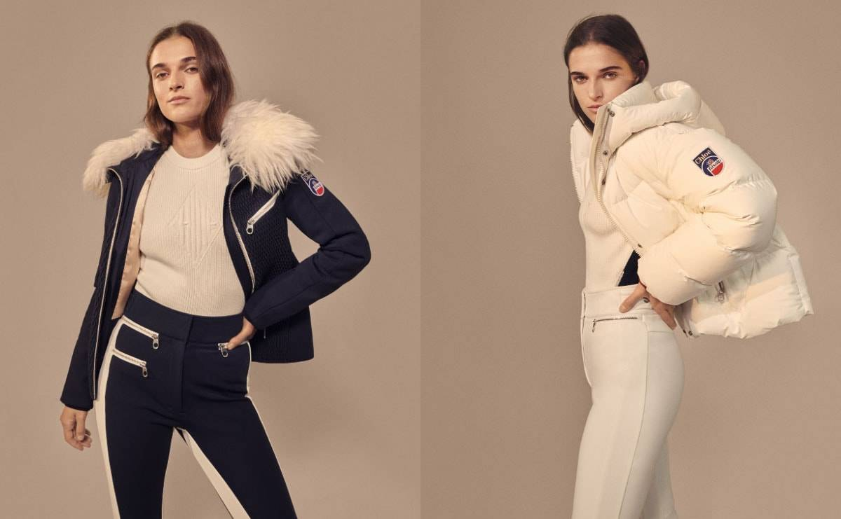Chloé and Fusalp collaborate on skiwear collection