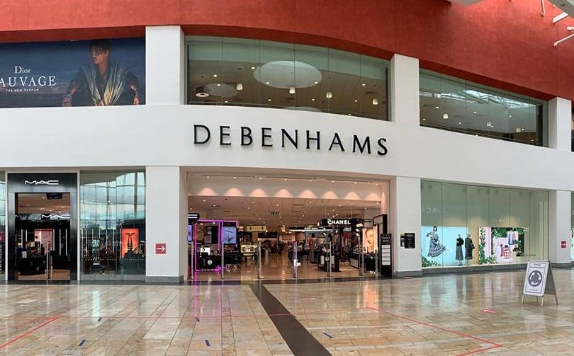 Debenhams to permanently close 6 stores, 320 jobs affected