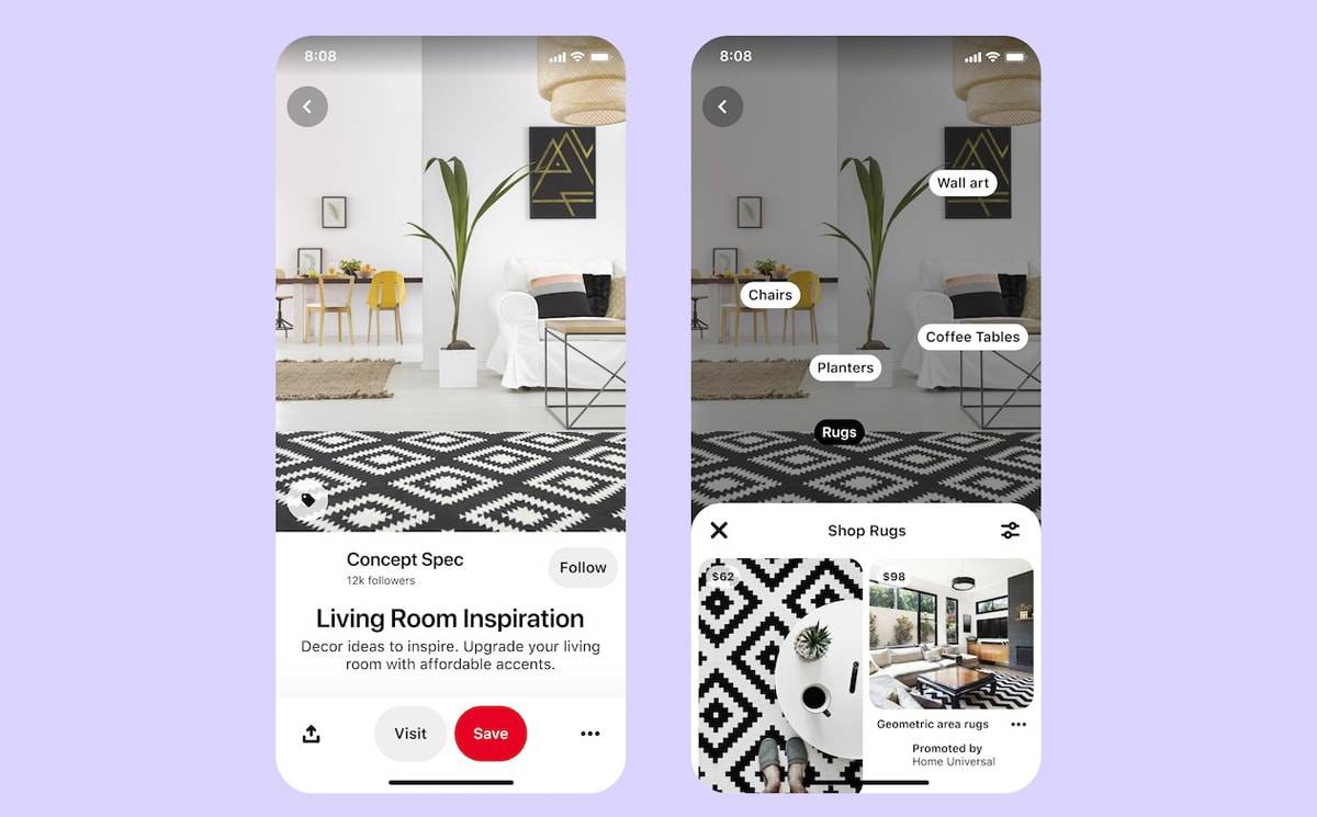 Pinterest announces new site tools and UK shopping