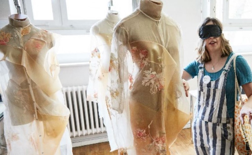 """Beyond Seeing"" explores sensory fashion design"
