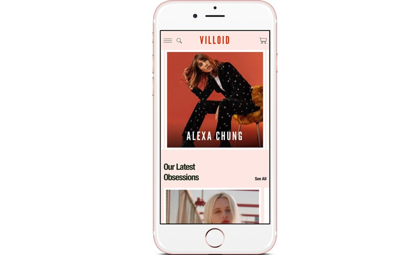 "Alexa Chung's Villoid launches ""hyper-curated"" shopping"