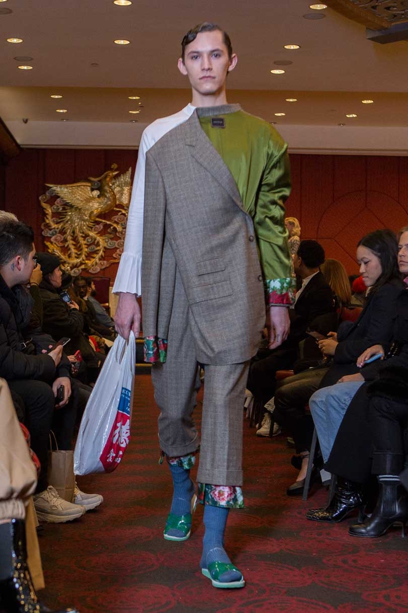 Snow Xue Gao finds inspiration from Chinatown for fall/winter 2018