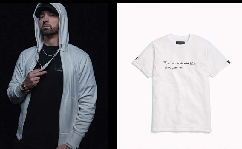 Eminem launches capsule collection with Rag & Bone