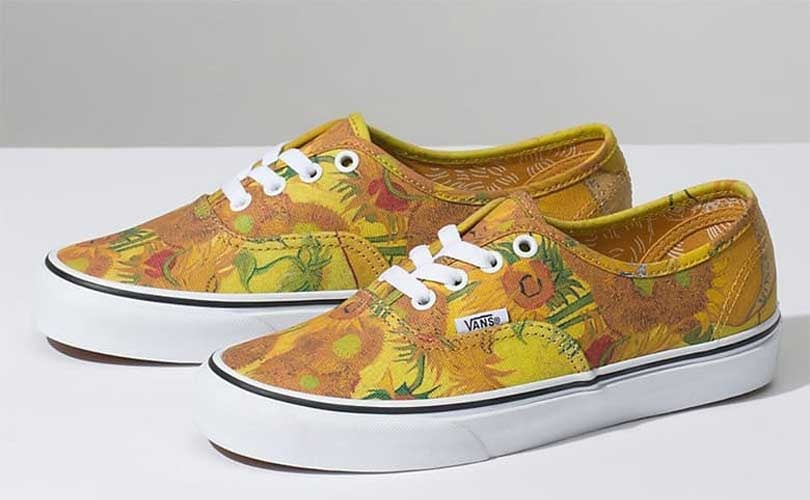 93dec81a64 Van Gogh s paintings come to life in new Vans collection
