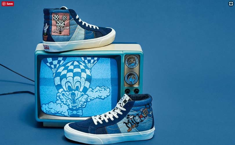 601194e90744 Disney celebrates Mickey s 90th anniversary with Vans and Forever 21  collections