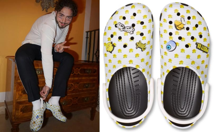 958963f8a Post Malone s new Crocs line sells out in hours