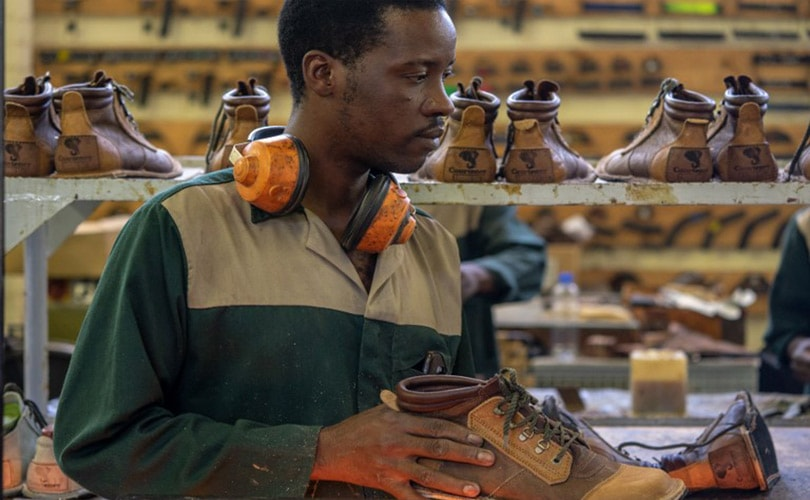 By the bootstraps: Handmade Zimbabwe shoes an unlikely global hit