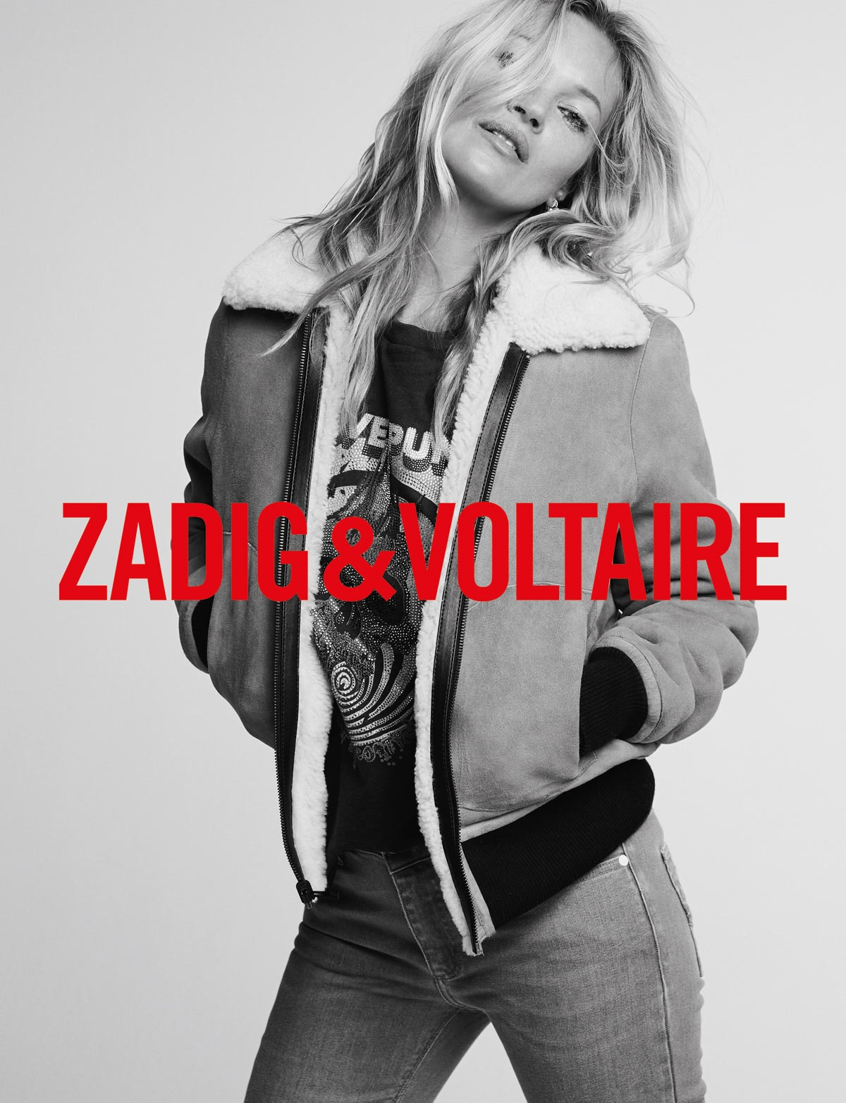 Zadig and Voltaire to collaborate with Kate Moss