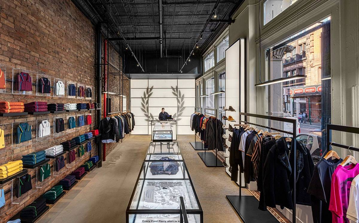 Fred Perry opens doors of New York flagship