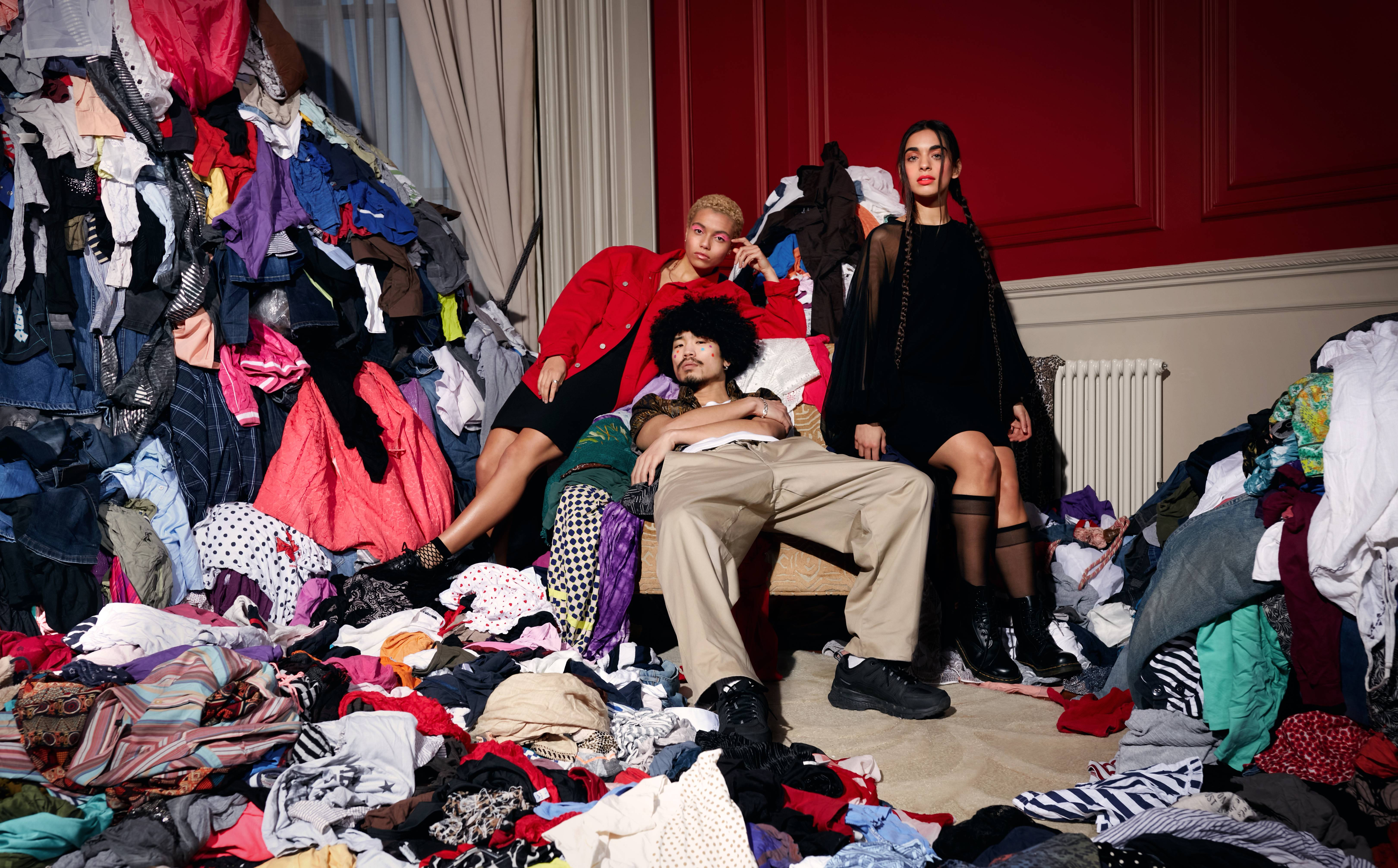 Vanish partners with the British Fashion Council to highlight throwaway fashion