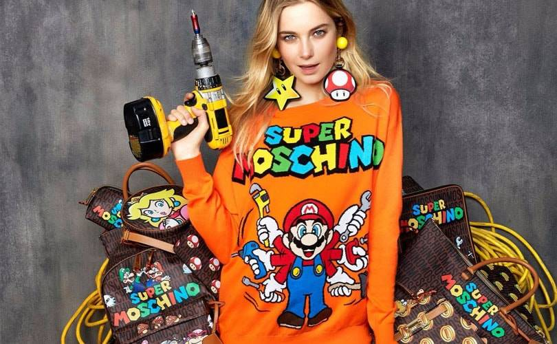Moschino unveils Super Mario Bros. inspired collection