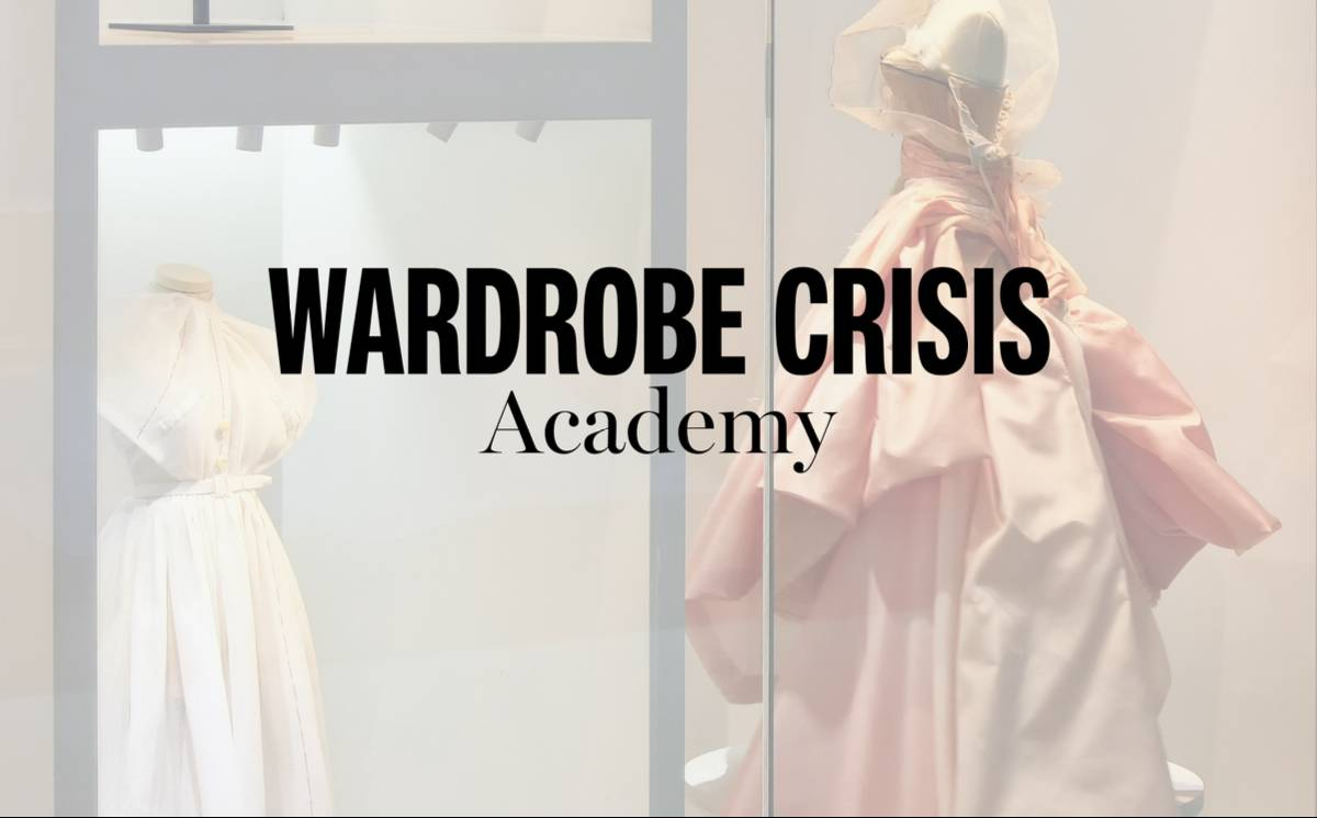 Wardrobe Crisis Academy launches online sustainable fashion course